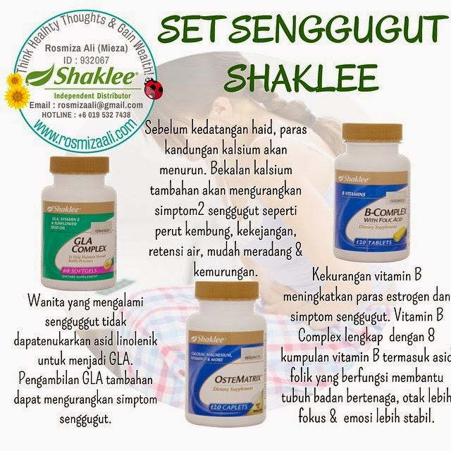 Set Senggugut Shaklee