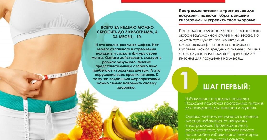 Программа Снижения Веса Для Женщин