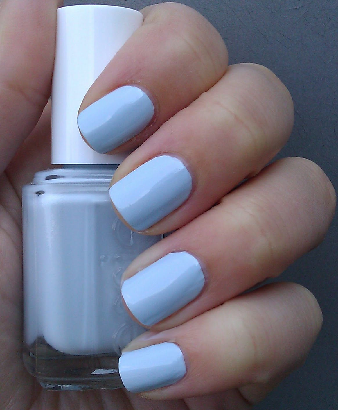 The Times New Roman: Nail Polish of the Moment: Borrowed & Blue by Essie