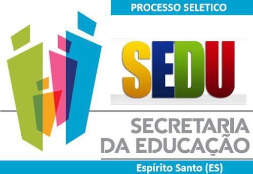 Sedu ES anuncia processo seletivo DT em 2017