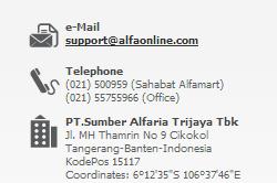 alamat pt sumber alfaria trijaya tbk