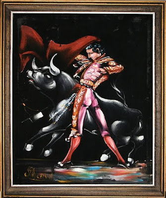 kijiji matador black velvet painting