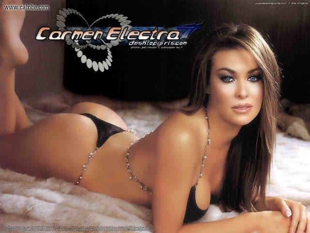 Super Model Carmen Elektra 's Wallpapers