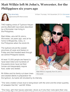 Matt Wilkie from Cebu Philippines