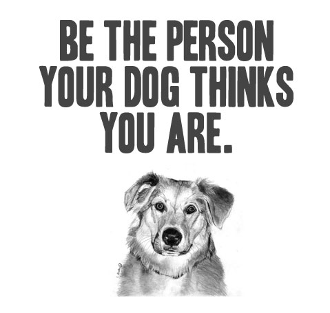the person your dog thinks you are