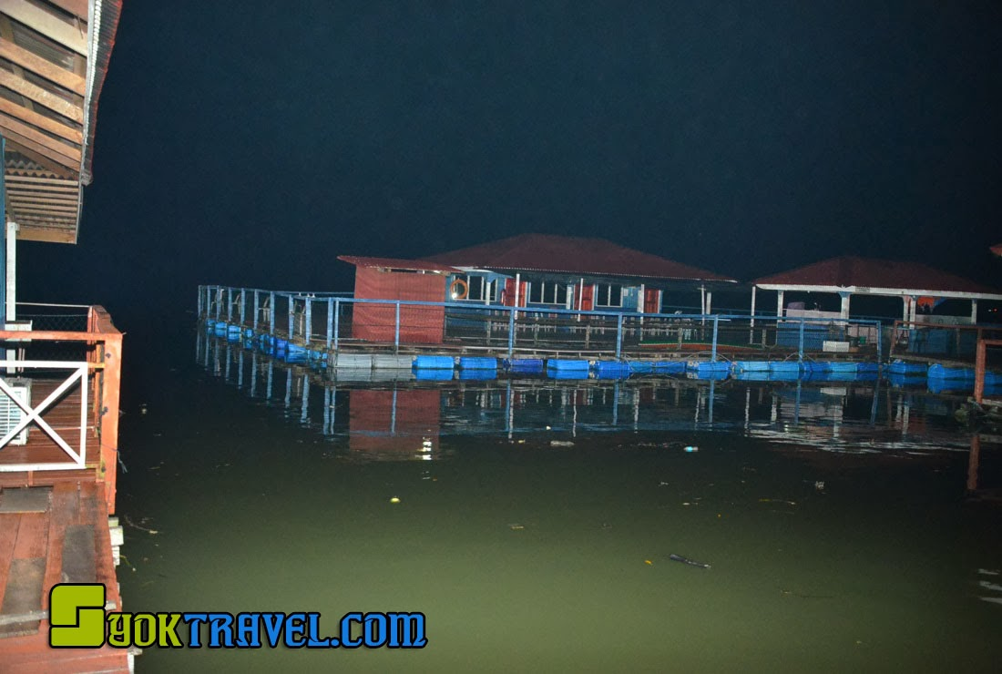 Chalet Terapung, Sungai Merbok