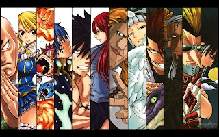 Fairy Tail Guild New Oracion Seis Anime HD Wallpaper Desktop Background