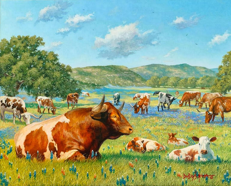 Cuadros modernos pinturas y dibujos 10 18 13 - Cuadros de vacas ...