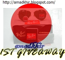 Amadkhir's First Giveaway