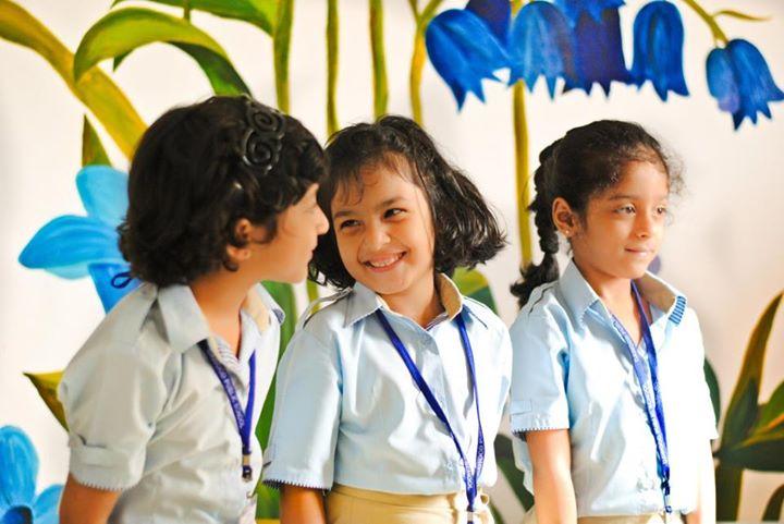 Happy Students of Dawood Public School Karachi
