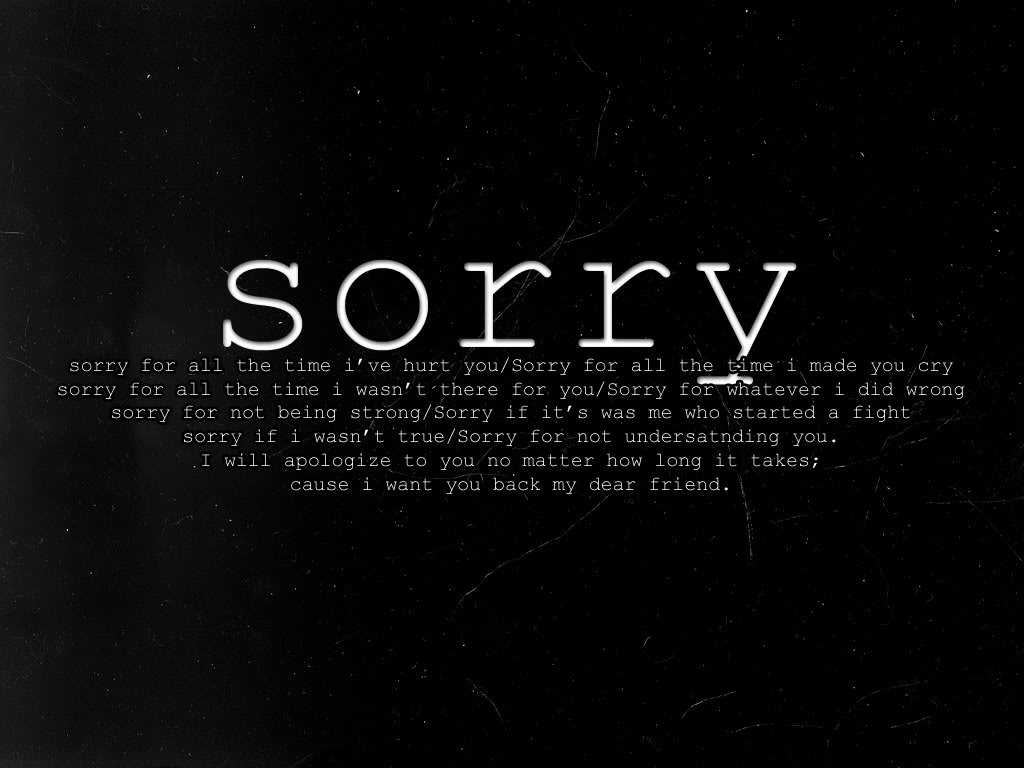 i am sorry my love wallpapers - photo #44