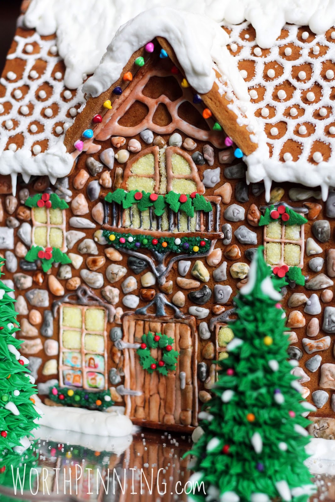Worth pinning stone gingerbread house for House patterns