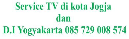 Service Tv Jogja Panggilan 085 729 008 574