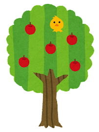 木の成長過程のイラスト9