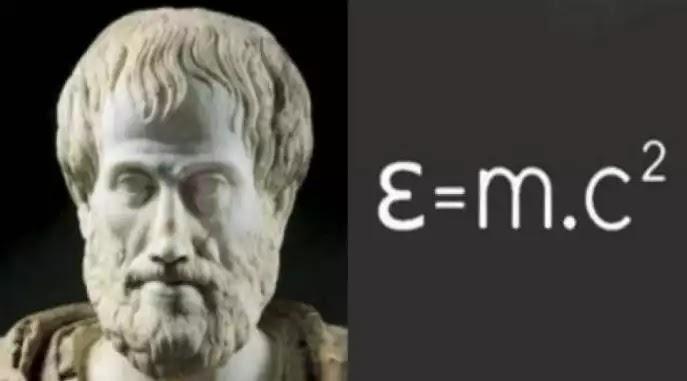 Ο Αριστοτέλης είχε ανακαλύψει τη θεωρία της σχετικότητας(και όχι μόνο) χιλιάδες χρόνια πριν τον Einstein