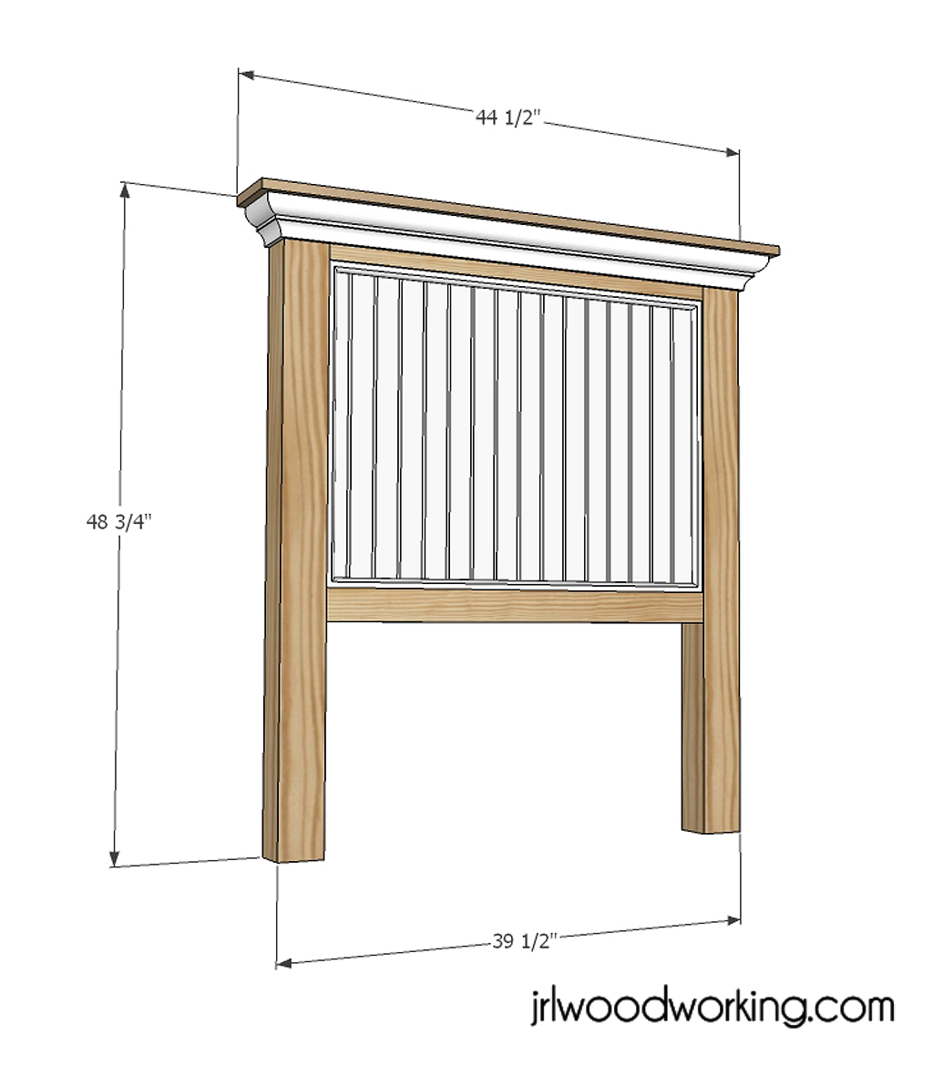 Best Woodworking Plans 2015: Twin Bookcase Headboard Plans Free Wooden ...
