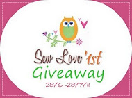 Sewlove 1&#39;st Giveaway