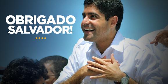 ACM, o Neto, vulgo grampinho, elege-se prefeito de Salvador.