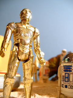 Goldenrod here seems like one of those must have figures for a Kenner collection, although he's sadly more frustrating to acquire than other main-cast members. Deathstar R2-D2 Action Figure Hasbro Vintage Star Wars A New Hope Empire Strikes Back Return of the Jedi