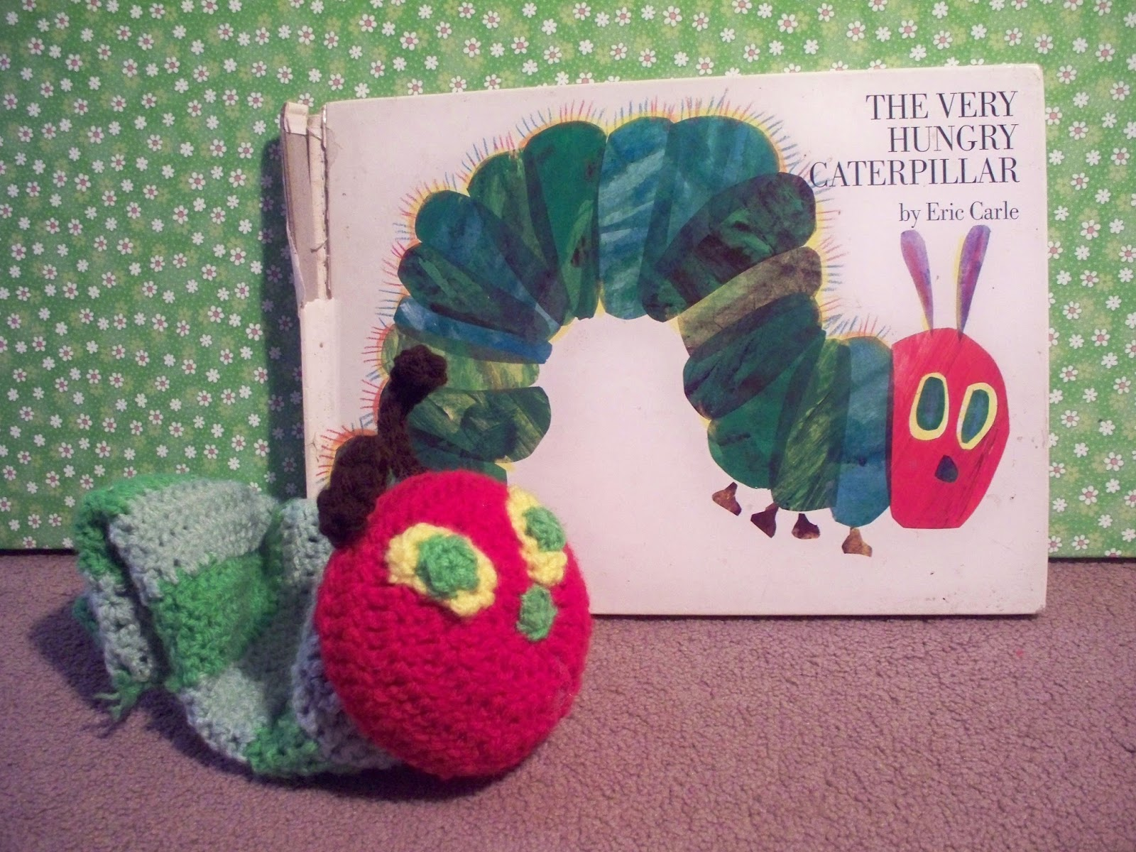 Free Crochet Pattern Very Hungry Caterpillar : I {HART} my preschoolers: Crochet for the Classroom: The ...