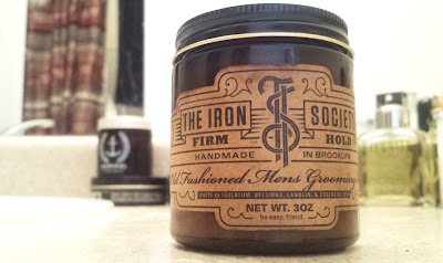The Iron Society Firm Pomade Review - Curly or Wavy Hair Types