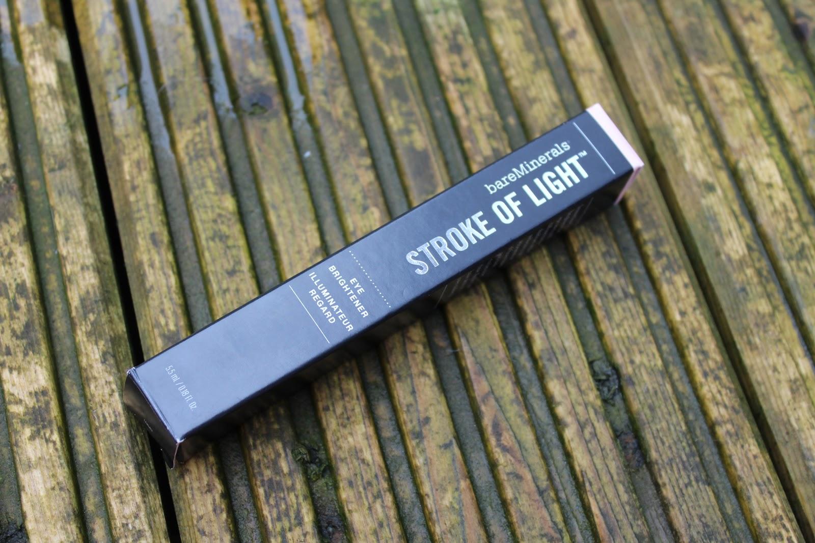bare minerals stroke of light eye brightener review. Black Bedroom Furniture Sets. Home Design Ideas