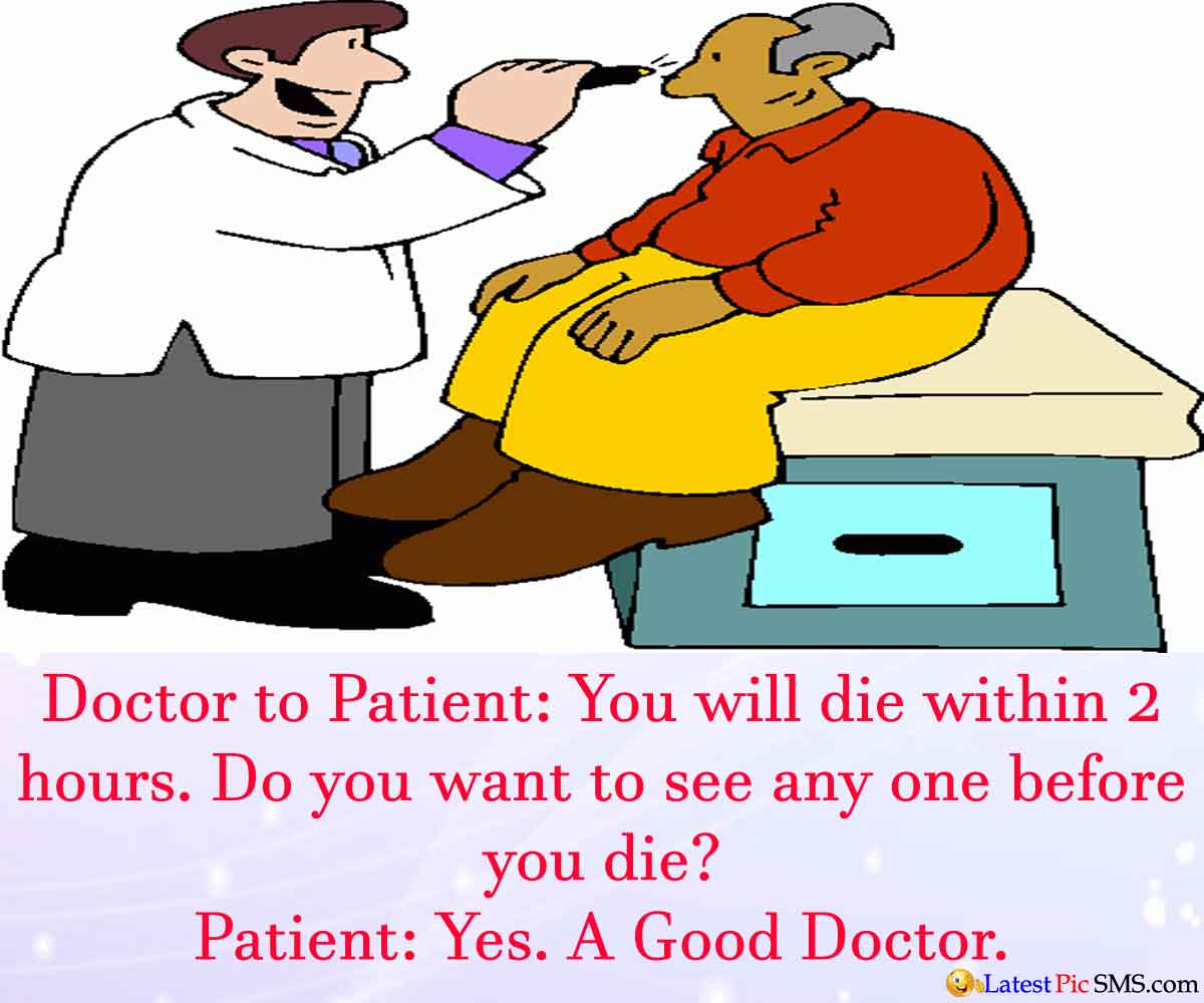 Funny Cartoon Doctor Patient Jokes | Latest Picture SMS