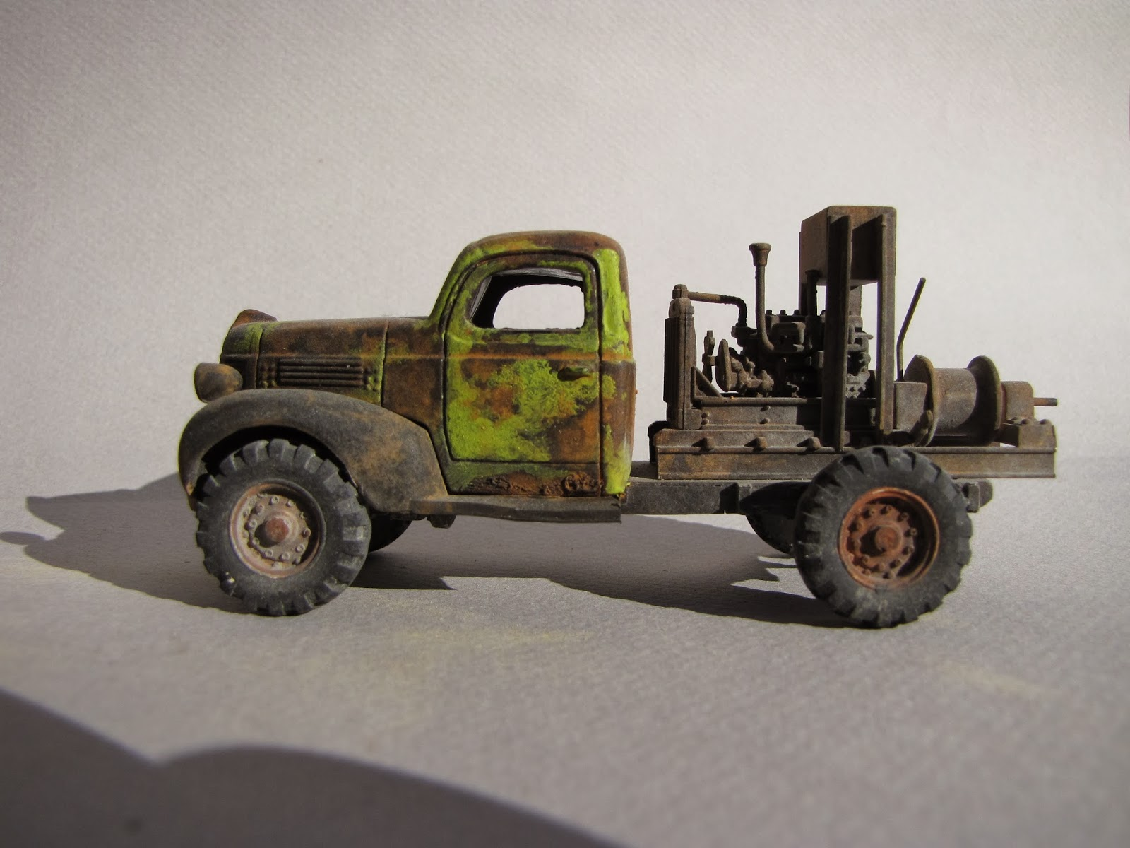 Thomas A Yorke O Scale Models Used Cars For Sale 1941 Plymouth This Group Shows Truck With Winch 1934 Sedan The 1929 Again 1938 Buick Packard Ford And Last Two
