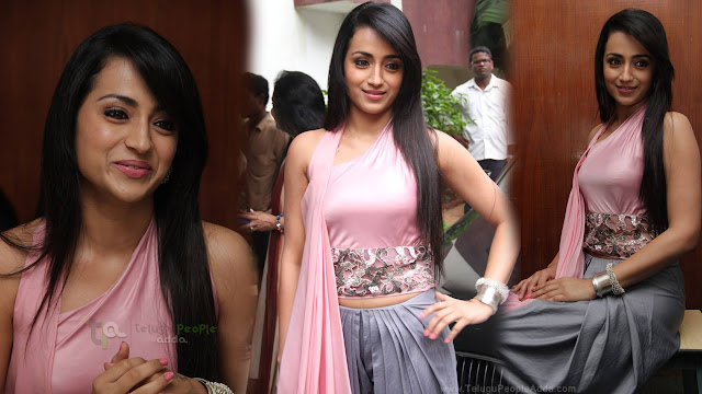 Trisha Latest HD images At Sakalakala Vallavan Appatakkar Movie Press Meet