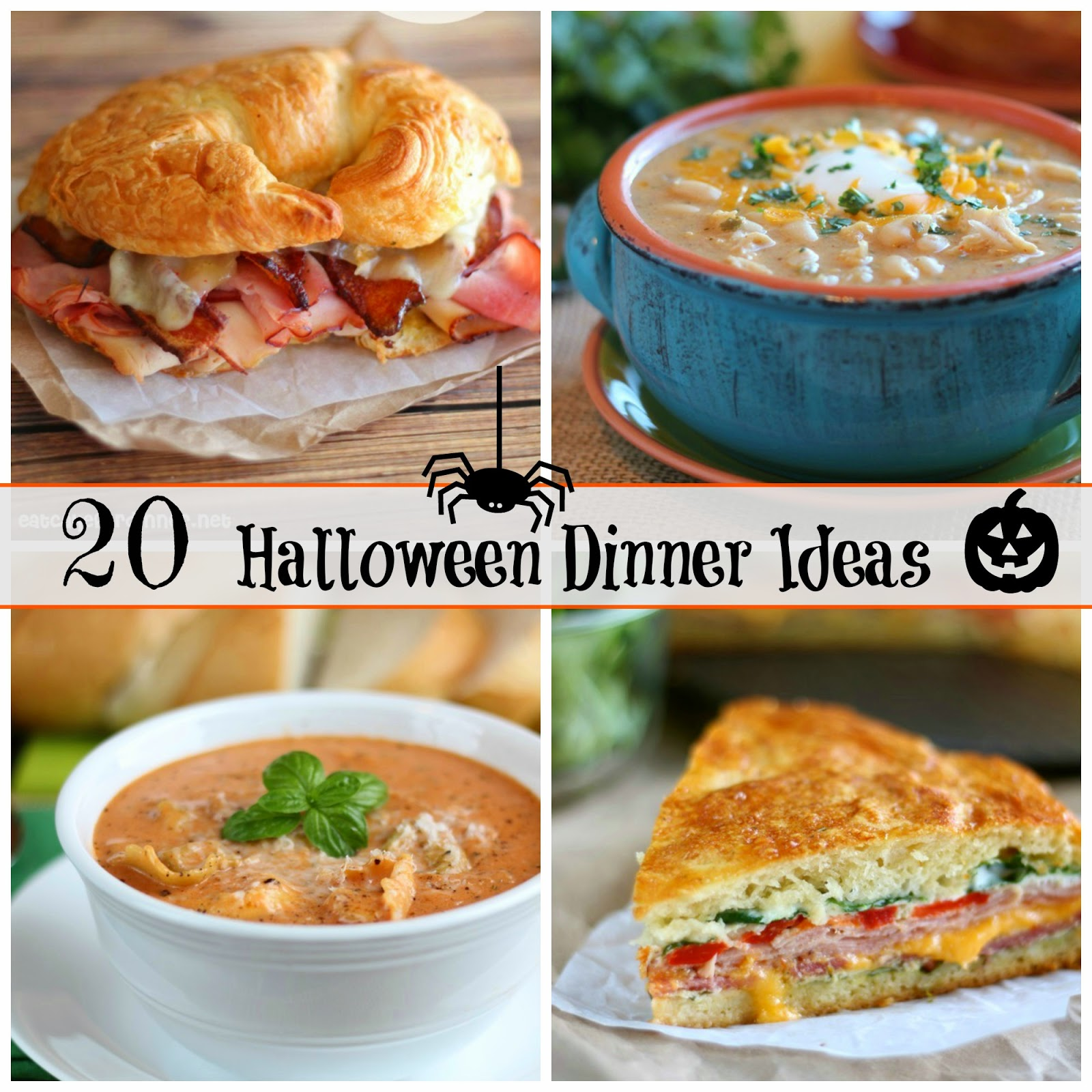Eat Cake For Dinner: 20 Halloween Dinner Ideas to Warm you Up