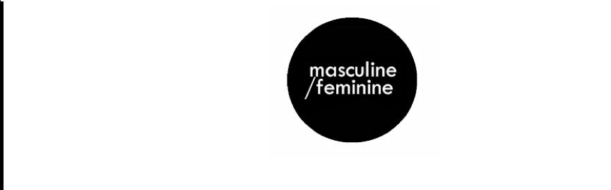 masculine/feminine