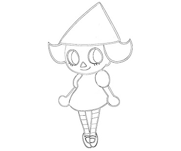 #5 Animal Crossing Coloring Page