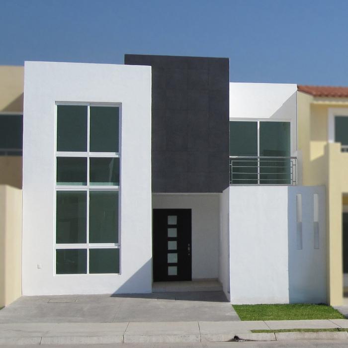 Fachadas minimalistas fachadas minimalistas modelo b4 for Casas residenciales minimalistas