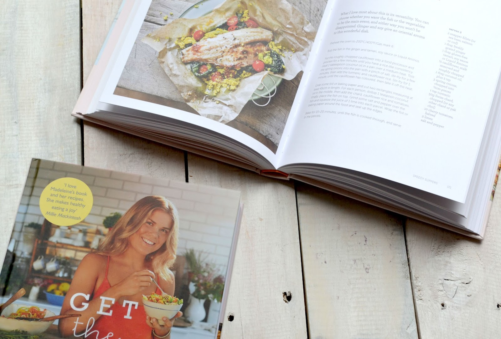 Madeleine Shaw Recipe Book