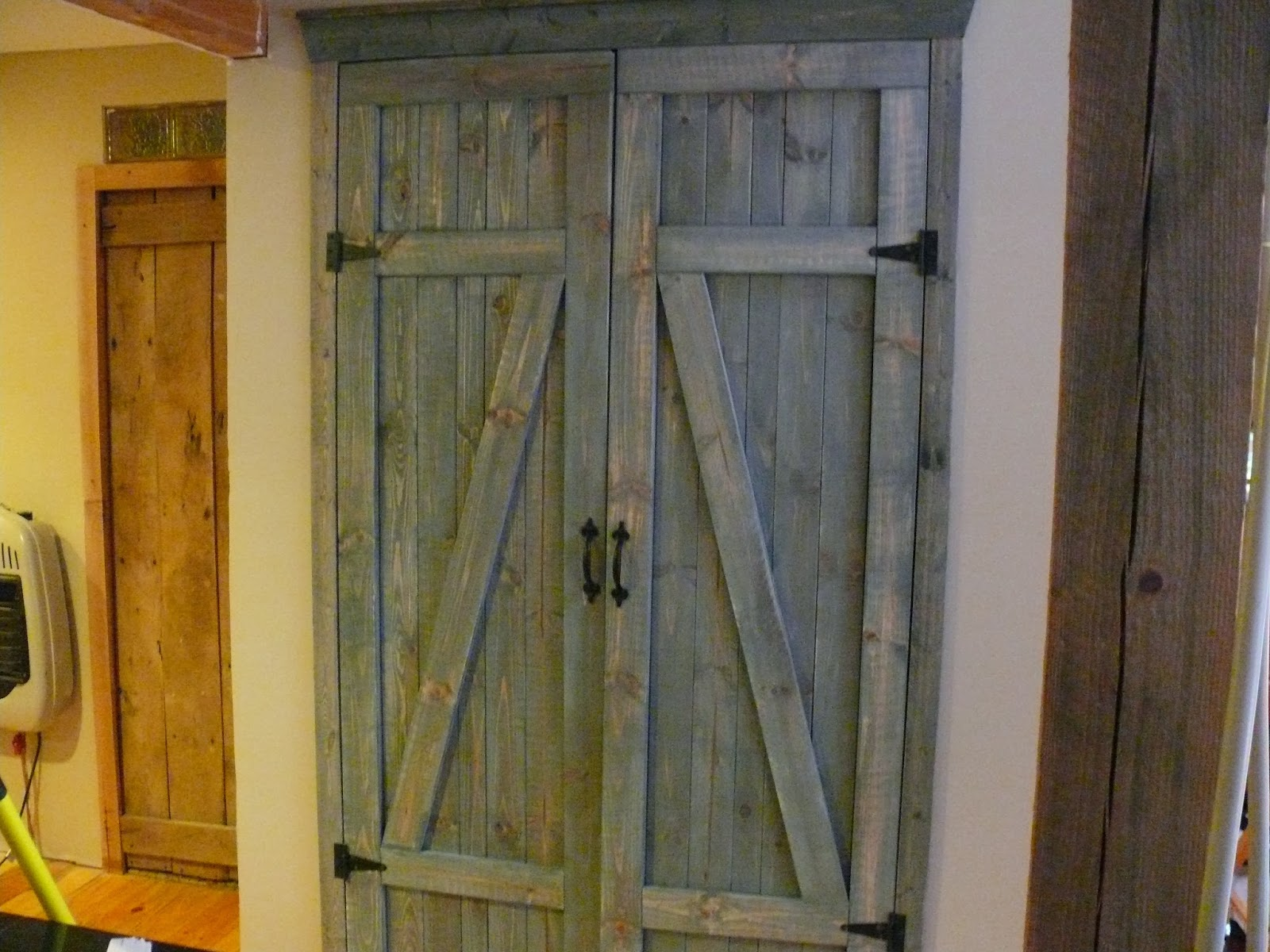 Amazing We Found This Plan For The Barn Doors On The Internet. Not Only Does This  Look Better But The Dryer Is A Lot Less Noisy.