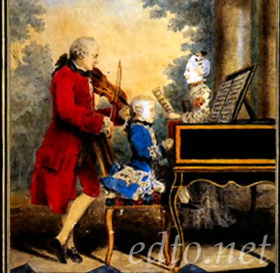 a history of wolfgangs father Wolfgang amadeus mozart father leopold mozart was a choir seven she began keyboard lessons with her father while the three year old wolfgang watched with.