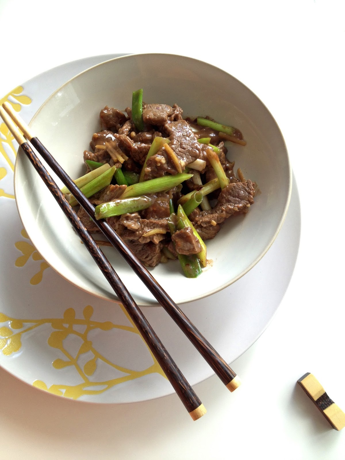 Ginger Beef Stir-Fry | Cooking Jar and Happy Accidents