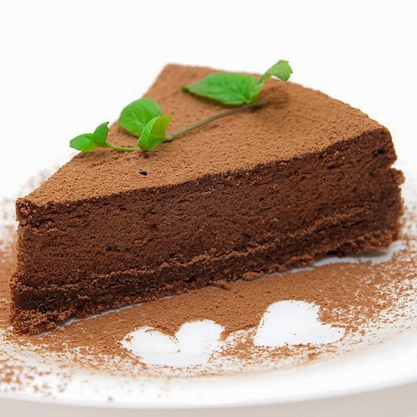 Torta de Queso al Chocolate