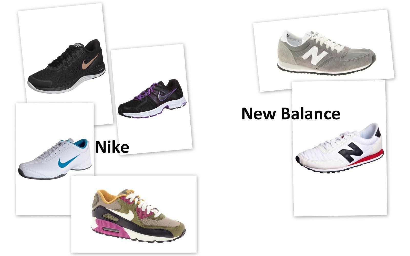 deportivas nike new balance