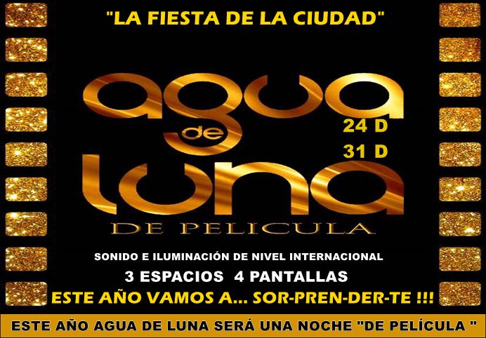 """ESPACIO PUBLICITARIO: """"AGUA DE LUNA"""""""