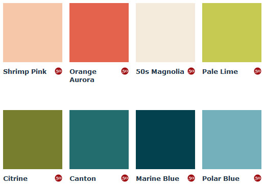 Mad for mid century june 2013 Mid century modern interior paint colors