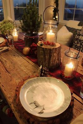 Decoración de casa en Navidad