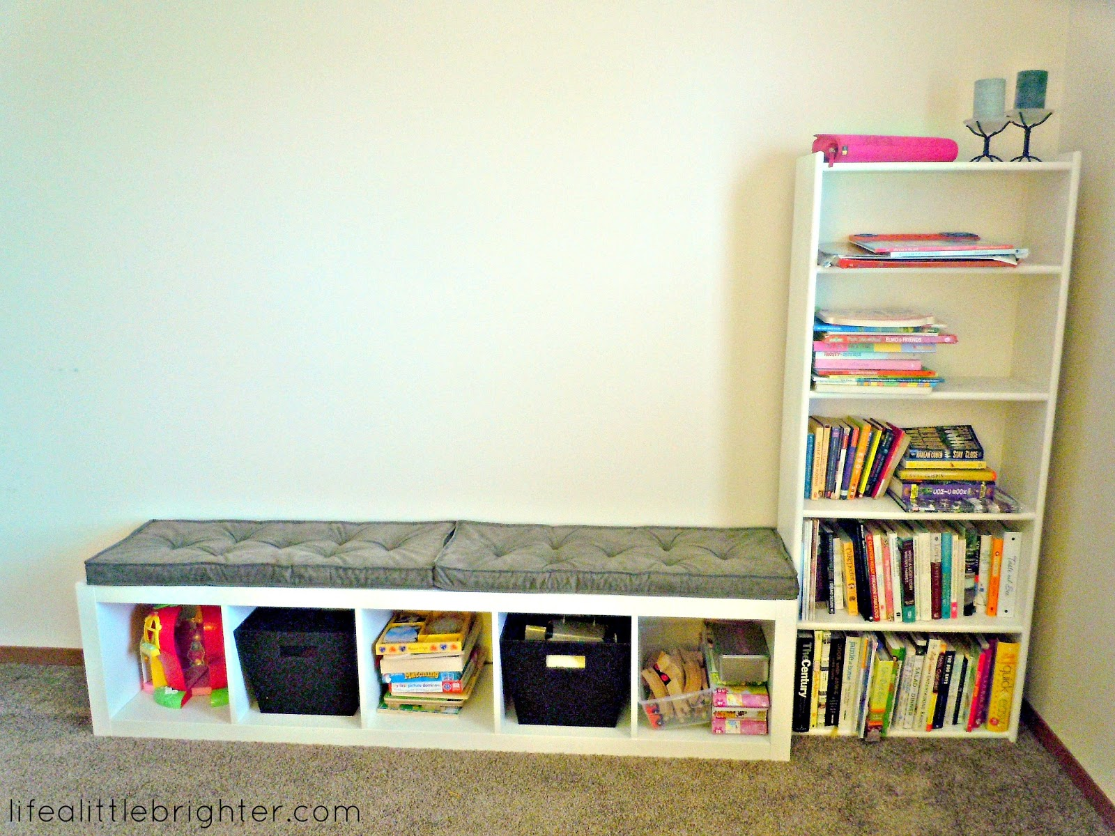 Ikea Schreibtisch Lackieren ~ IKEA hack Expedit Bookcase  Life a Little Brighter