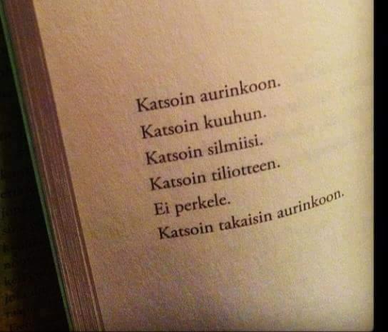 Rakkaudesta runoihin