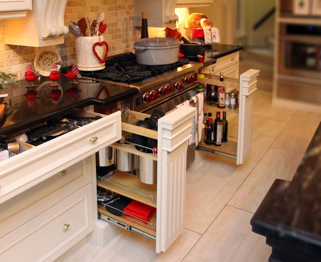 Organizablog ideas geniales para aprovechar el espacio en for Cajoneras de cocina