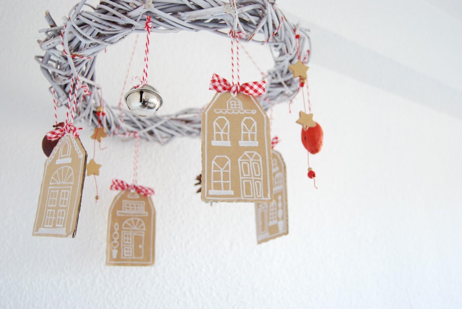 Corona de navidad colgante. - Handbox Craft Lovers | Comunidad DIY ...
