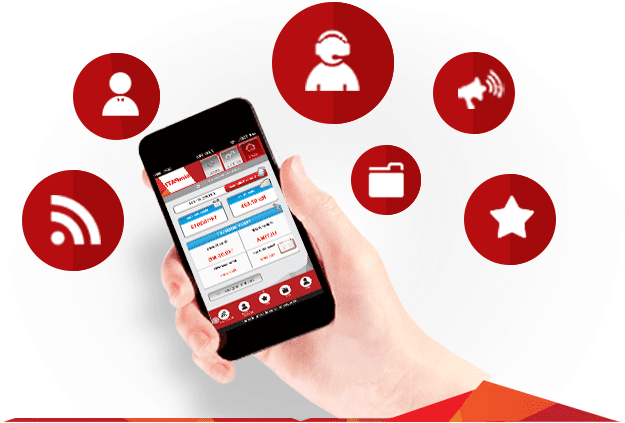 Telkomsel, Cek Kuota Paket Internet dan Cek Pulsa, Isi Ulang Pulsa, Pembelian Paket Flash Internet, Telpon, SMS, MMS, dan International Roaming, Transfer Pulsa, Flash Gift, dan Multi SIM Control