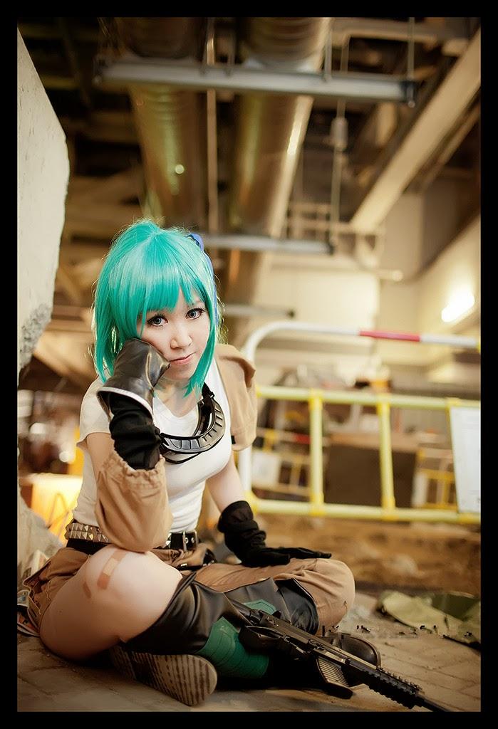 Anime Characters Cosplay : Dragon ball female anime character cosplay