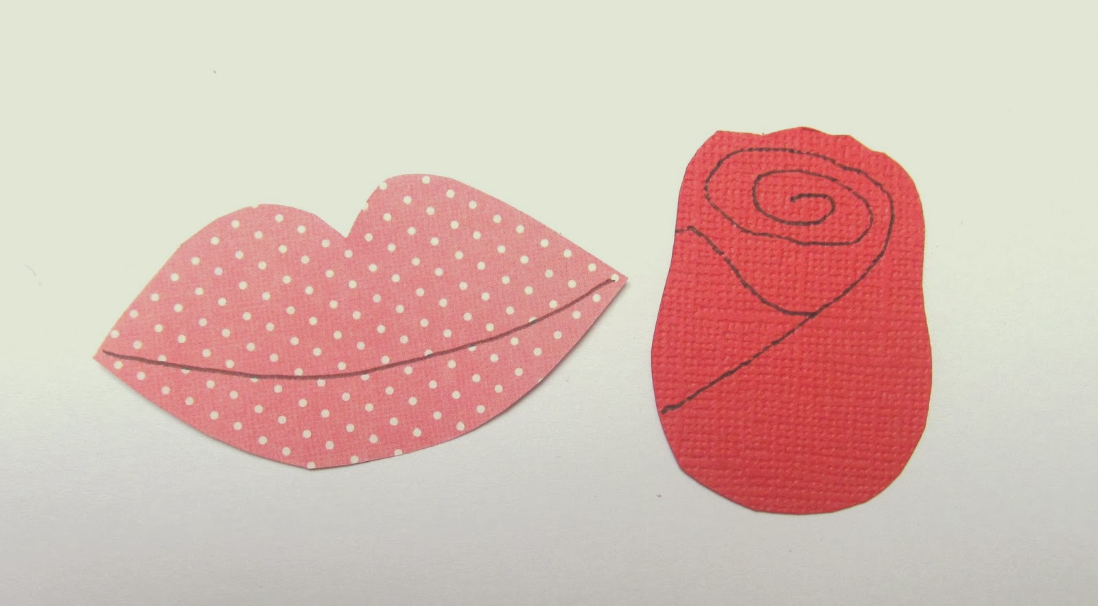 Valentine craft idea by Pink Flamingo Handcrafting