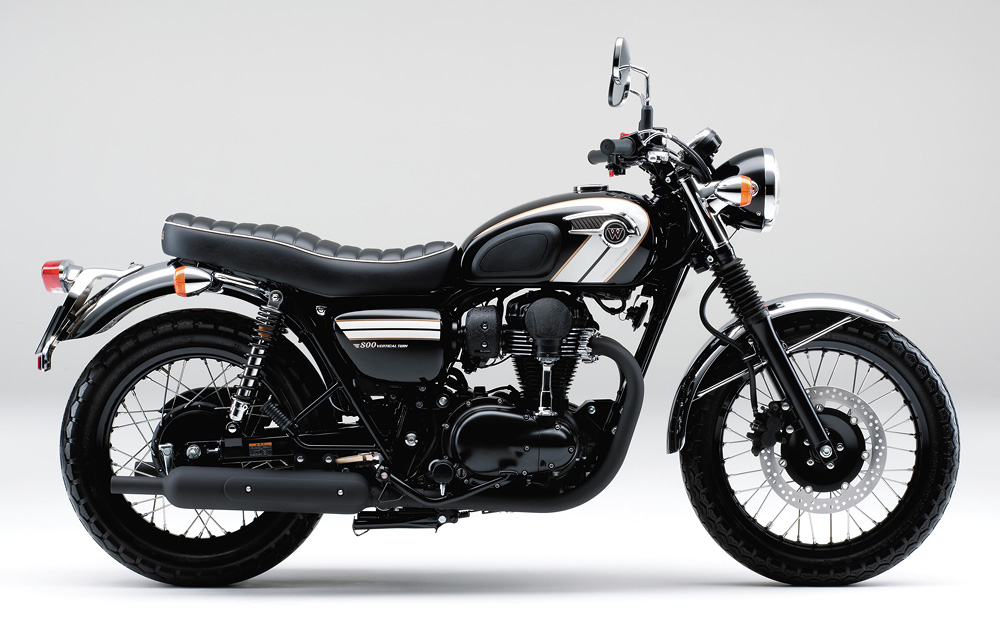 Planet Japan Blog Kawasaki W800 Special Edition 2016